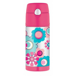 Thermos Funtainer 355ml Drink Bottle Flower
