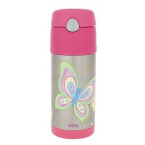 Thermos Funtainer Butterfly 355ml Drink Bottle