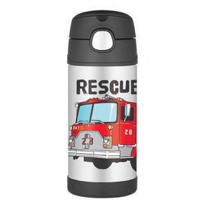 Thermos Funtainer Firetruck Drink Bottle