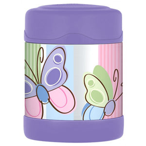 Thermos Funtainer 290ml Food Jar - Purple Butterfly