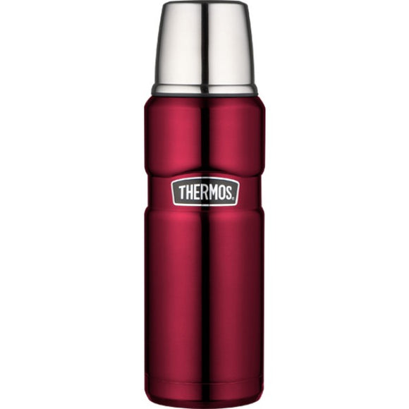 hermos Vacuum Insulated 470ml King Flask - Red