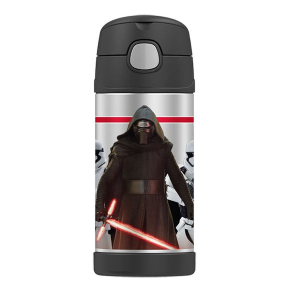 Thermos Star Wars Funtainer 355ml Drink Bottle Kylo Ren