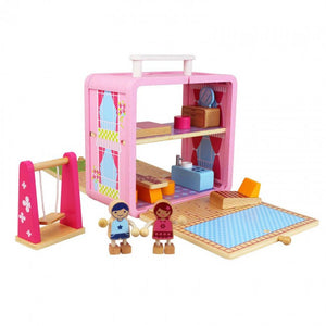 Tiger Tribe Dolls House Boxset - Open