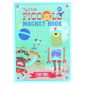 Tiger Tribe Piccolo Magnet Book - Planet Robot
