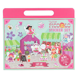 Tiger Tribe Piccolo Sticker Set - Fairy Lane