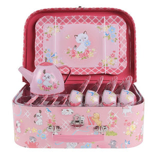 Tiger Tribe Kittens and Puppies Tea Set - Packaged