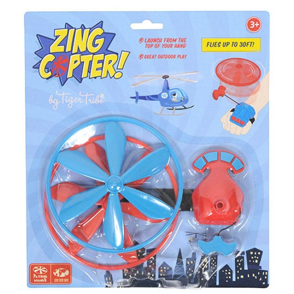 Tiger Tribe Zing Copter Blue-Red