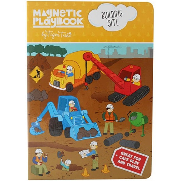 Tiger Tribe Magnetic Building Site Play Book