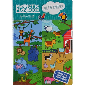 Tiger Tribe Magnetic Play Book - All the Animals