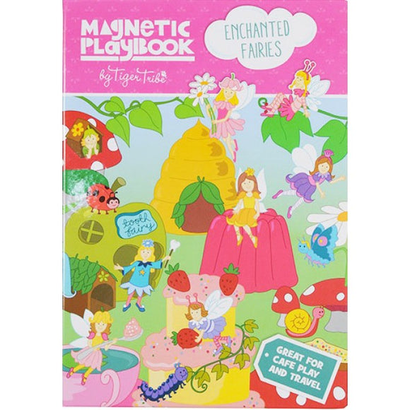 Tiger Tribe Enchanted Fairies Magnetic Play Book