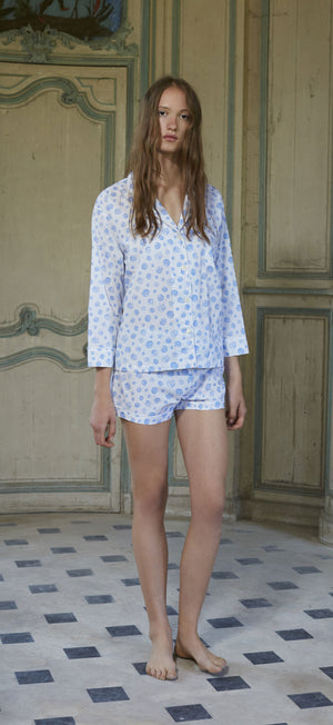 Lorient Block Print Short Pajama Set