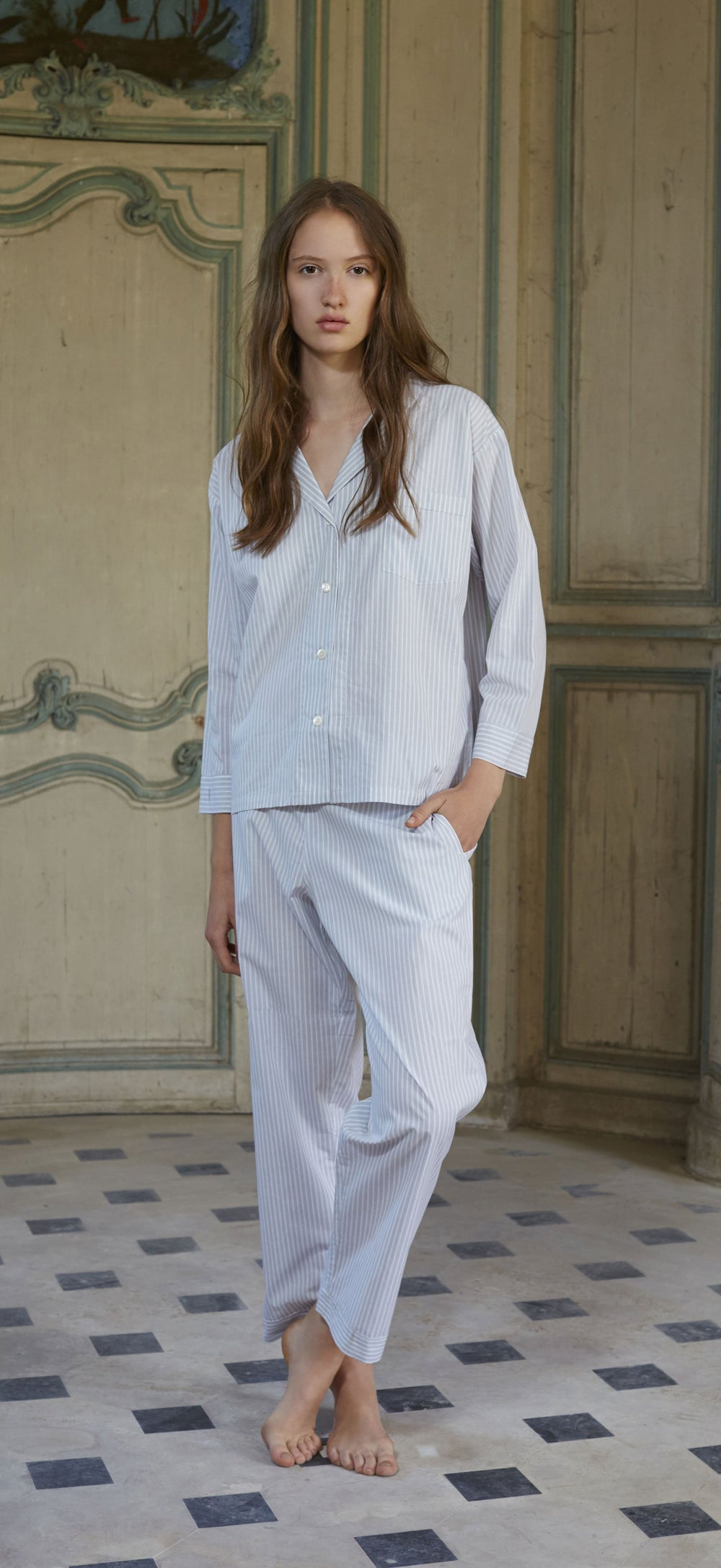 Amboise Long Pajama Set