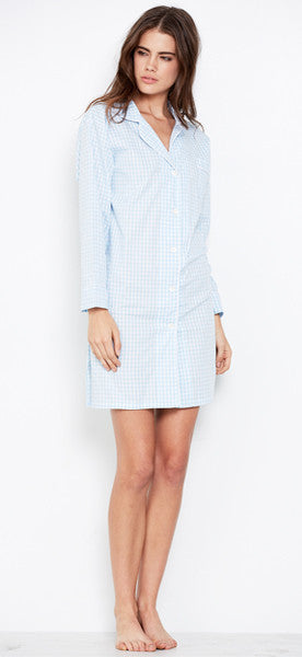 Maya Check Nightshirt