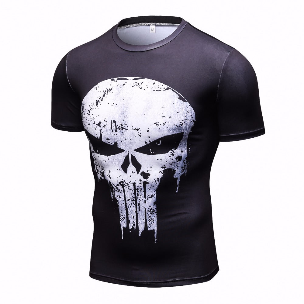 4a78f0d24 Compression t-shirt THE PUNISHER (short sleeves) – Crossfit-store
