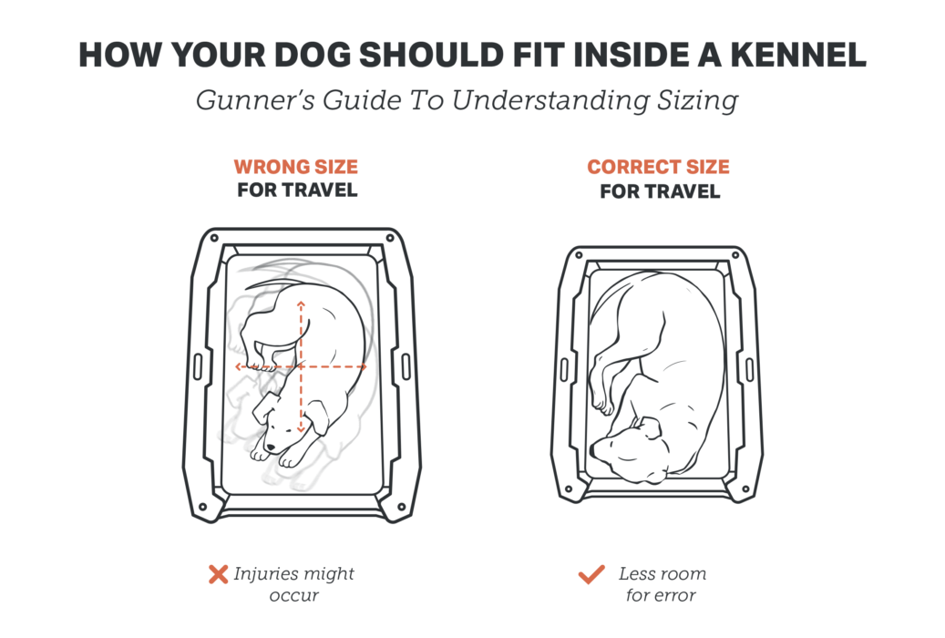 Best Gunner Kennel size for your dog
