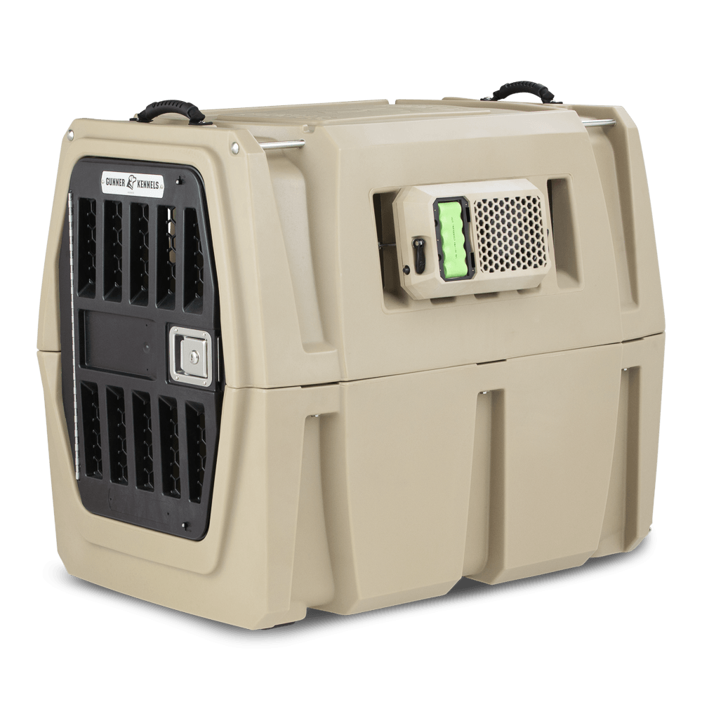 G1™ FAN BATTERY - GUNNER KENNELS - Best Dog Kennels - Crash Tested Dog Crates