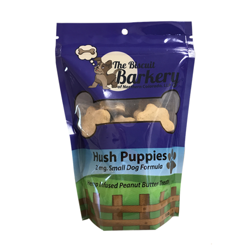 Biscuit Barkery Small Hush Puppies Peanut Butter Cookies - Plenty Pharma