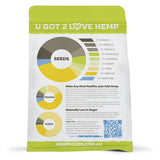 Organic Hulled Hemp Seeds - 250g - Plenty Pharma