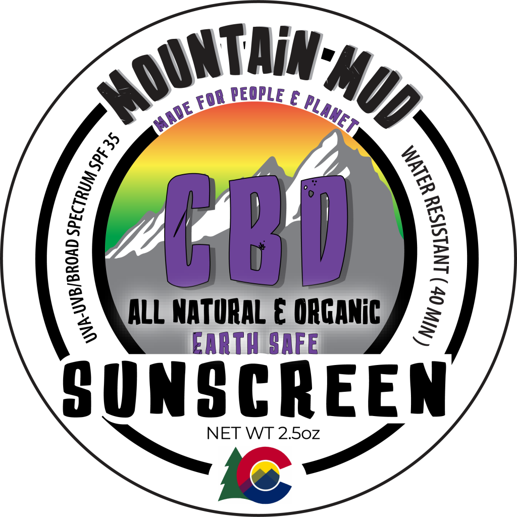 Mountain Mud CBD Sunscreen - Plenty Pharma