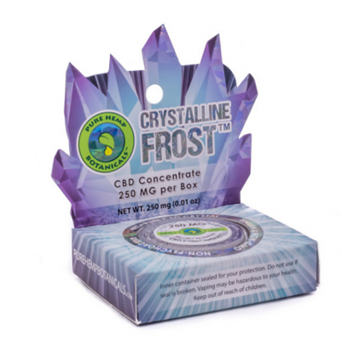 Crystalline Frost Pure CBD Concentrate Crystals - 250mg - Plenty Pharma