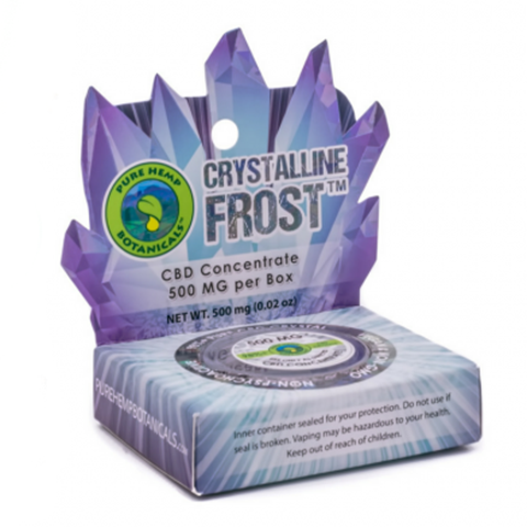 Crystalline Frost Pure CBD Concentrate Crystals - 500mg - Plenty Pharma