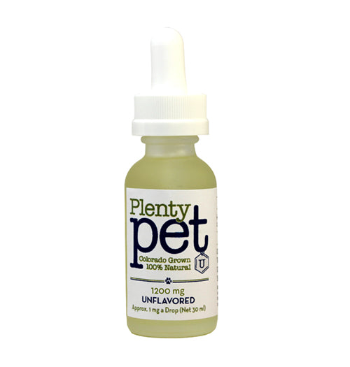 Plenty Pet Drops - 1200mg - Plenty Pharma