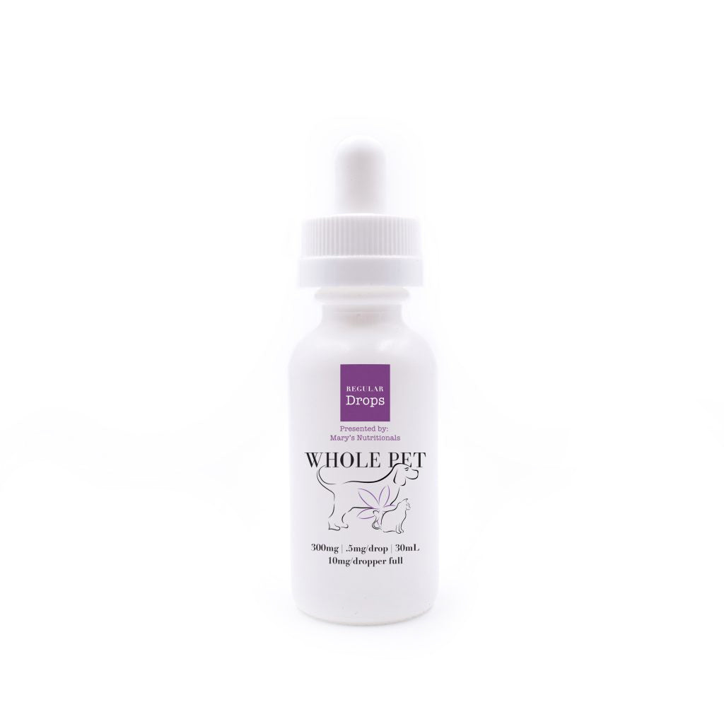 Regular Whole Pet Drops - 300mg - Plenty Pharma