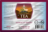 Herbal Hibiscus – 3 oz. Loose Leaf Tea – 180 mg - Plenty Pharma