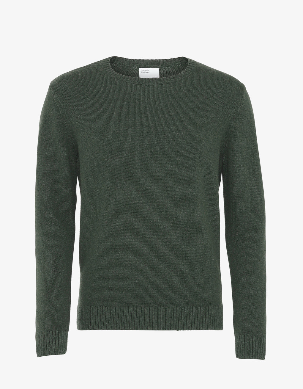 Colorful Standard Classic Merino Wool Crew Merino Crewneck Emerald Green