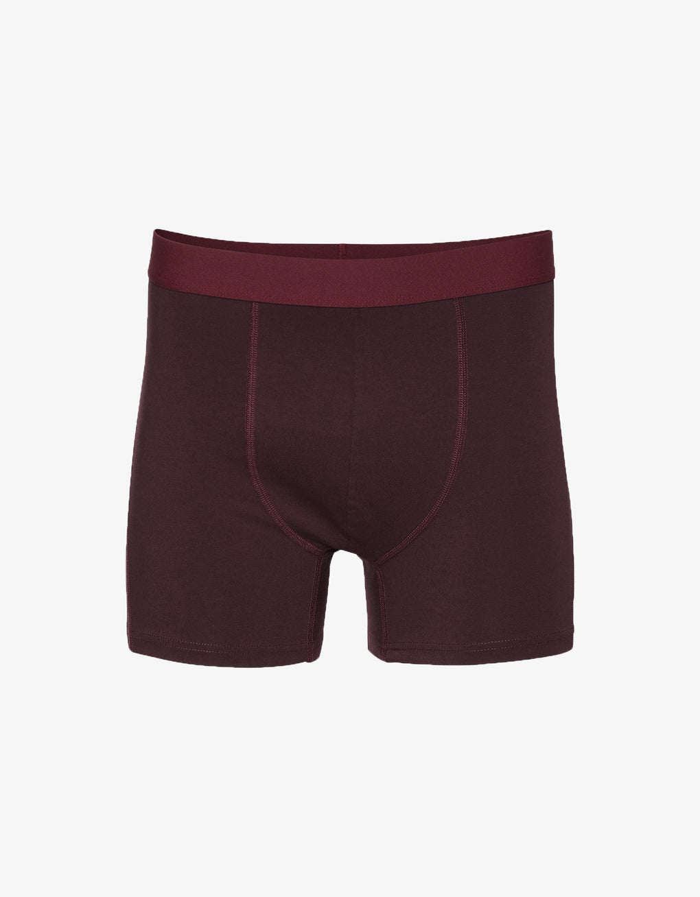 Colorful Standard Classic Organic Boxer Briefs Underwear Oxblood Red