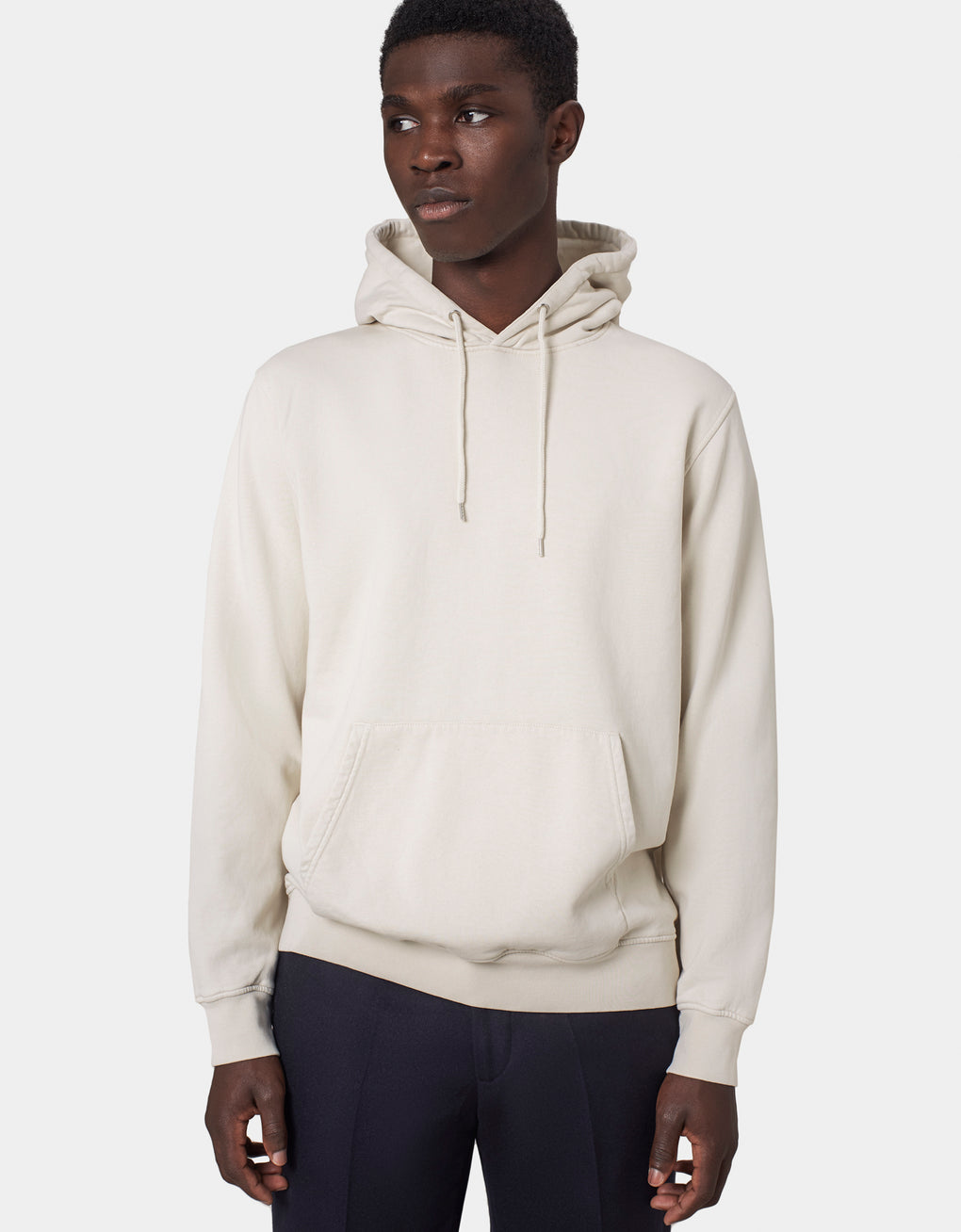 Colorful Standard Classic Organic Hood Hoodie Ivory White