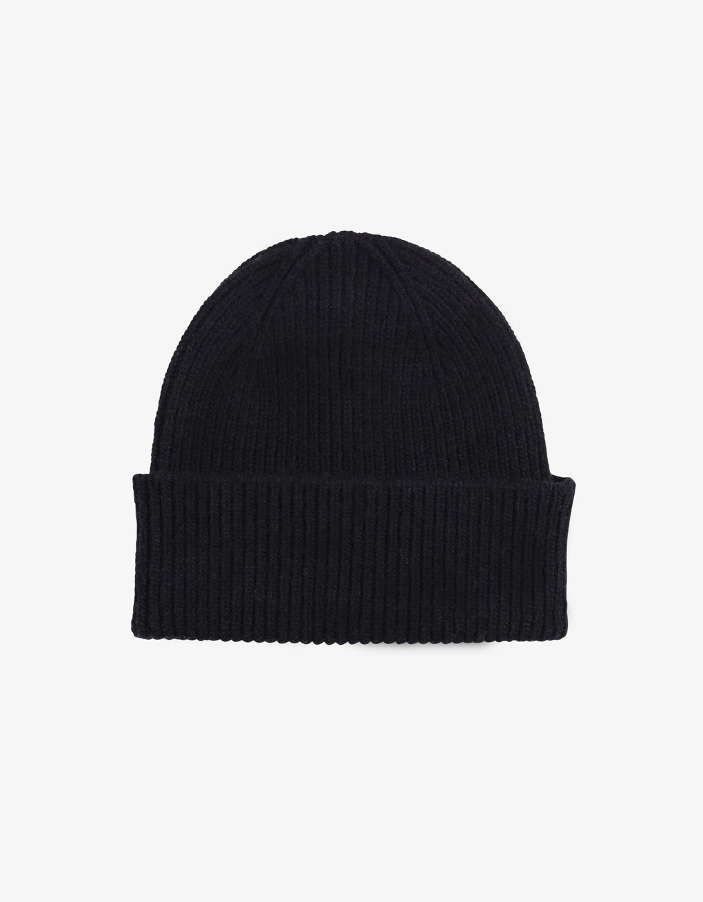 Colorful Standard Merino Wool Beanie Beanie Deep Black