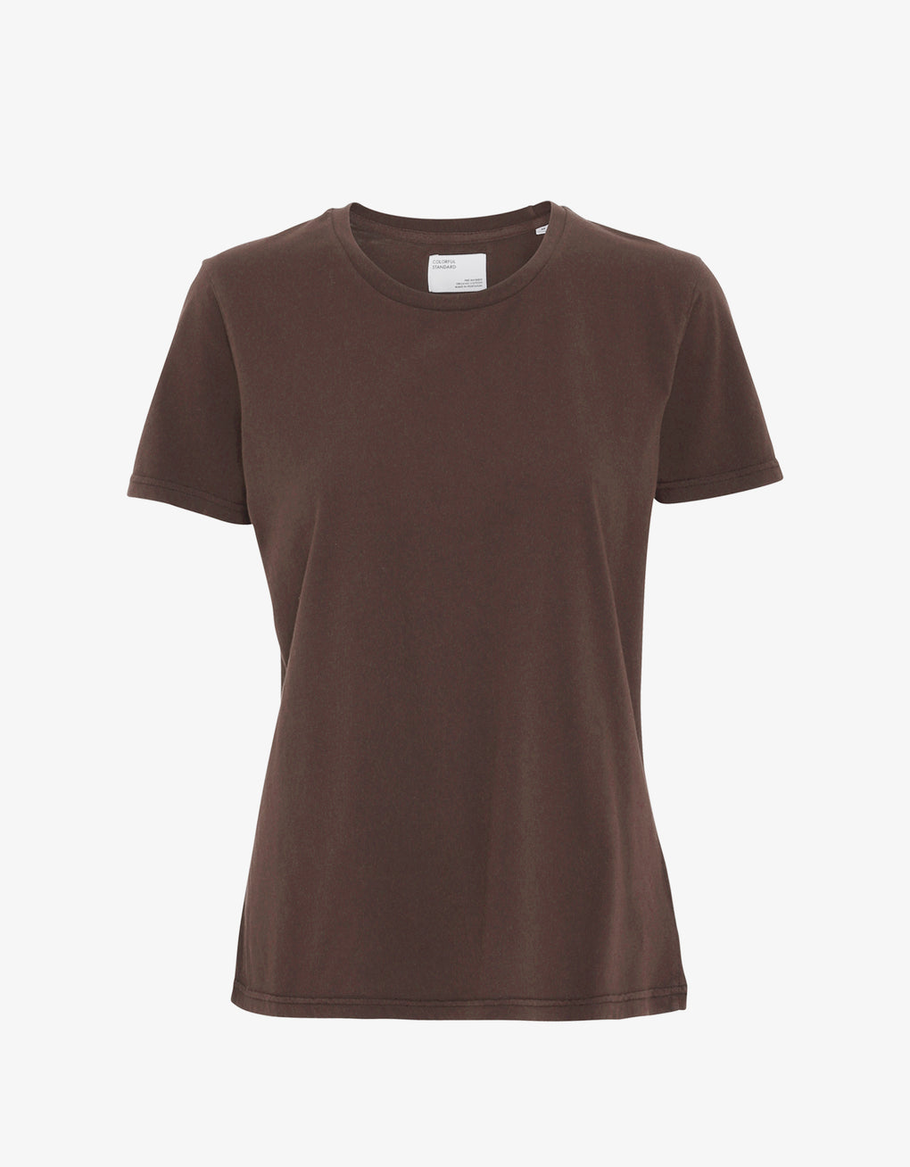 Colorful Standard Women Light Organic Tee Women T-shirt Coffee Brown
