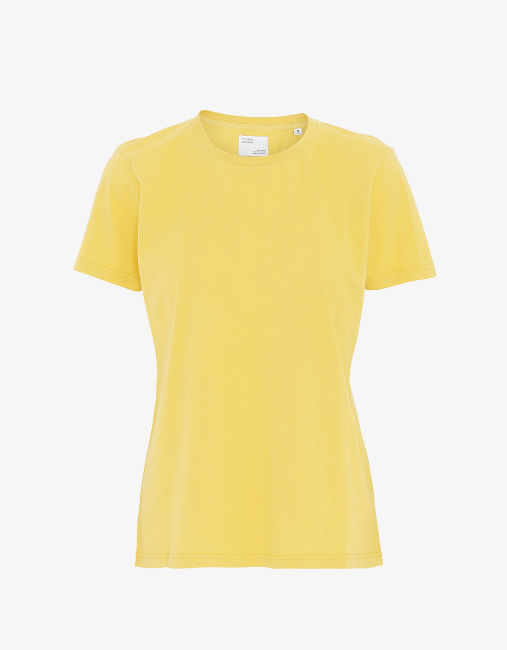 Colorful Standard Women Light Organic Tee Women T-shirt Lemon Yellow