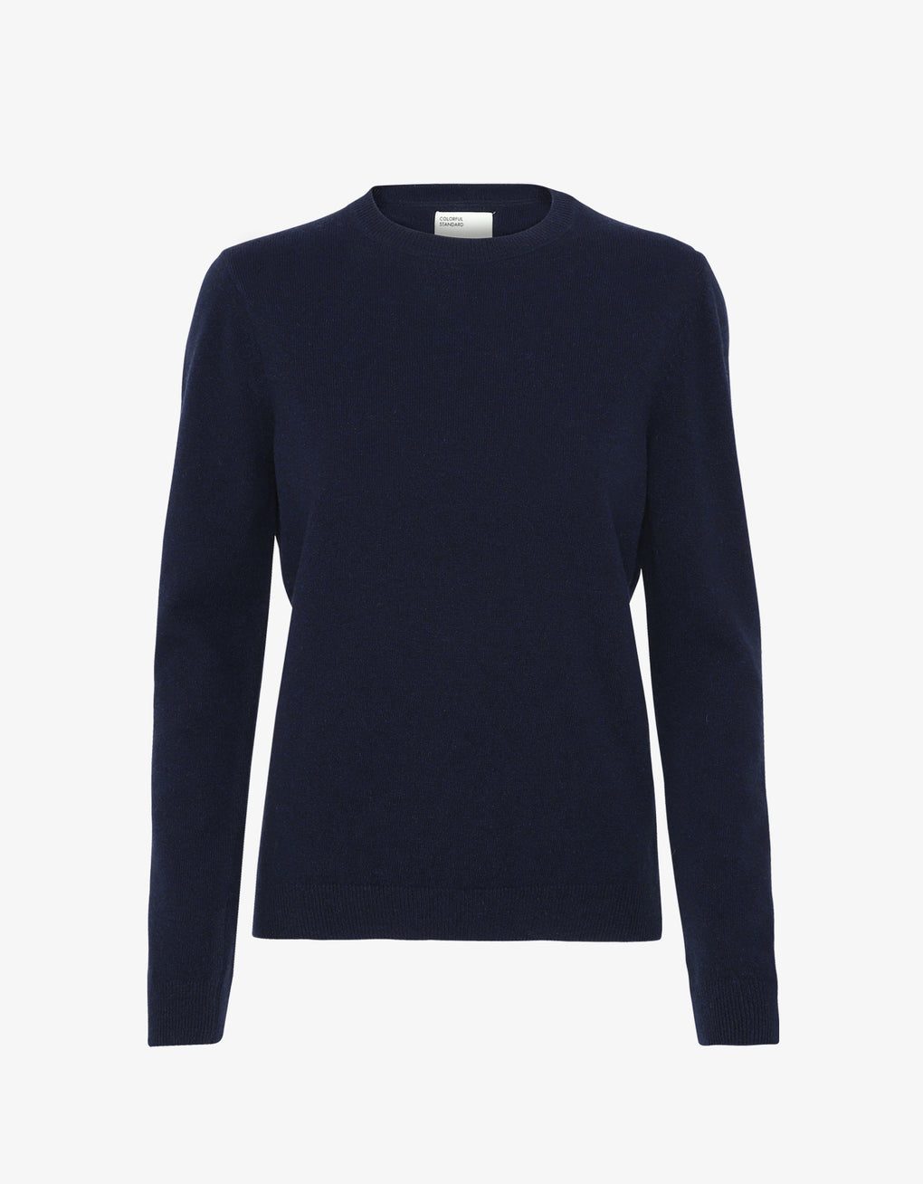 Colorful Standard Women Merino Wool Crew Women Merino Crewneck Navy Blue