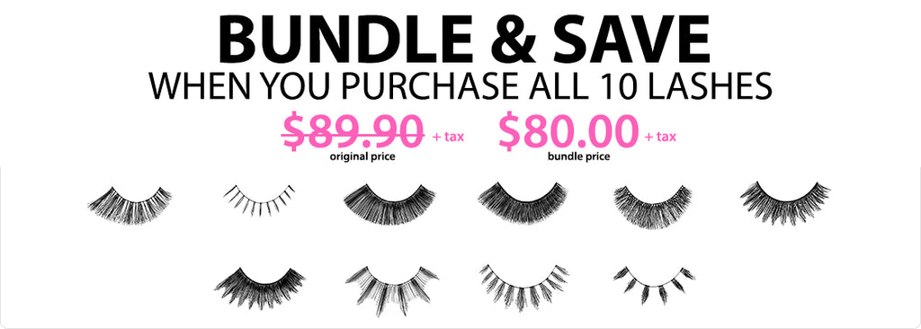10 LASH PAIR BUNDLE