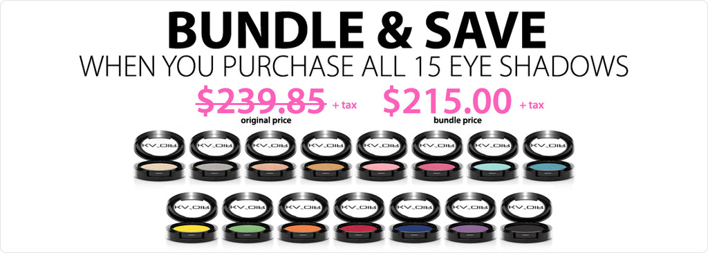 15 EYE SHADOWS BUNDLE