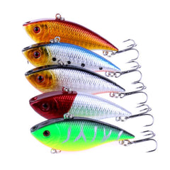 1pc-11g/7cm-Diving-VIB-Fishing-Lure-Lipless-Swimbait-Crankbait-HENGJIA