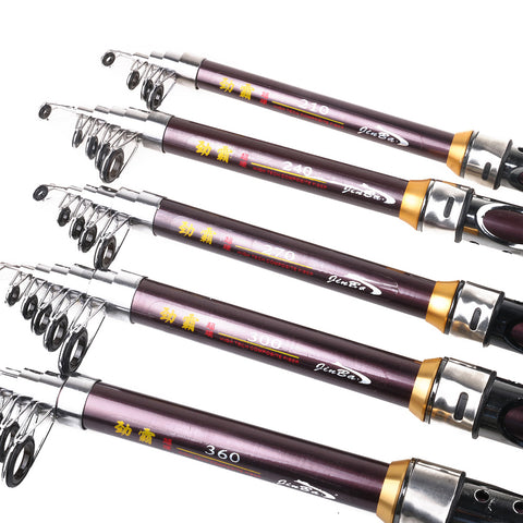 Sea-Hard-Amoured-Glass-Fishing-Rods-Portable-Spinning-Pocket-HENGJIA