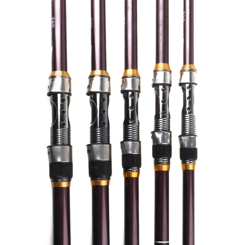 Sea Hard Amoured Glass Fishing Rods HENGJIA