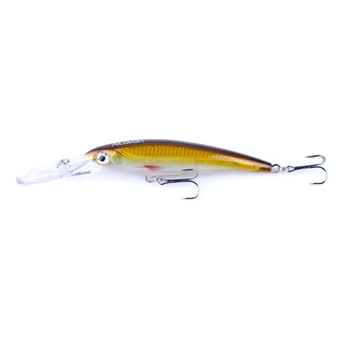 Diving-Minnow-Bait Hard-Lures-Plastic-Wobbler-Fishing-Tackle-HENGJIA