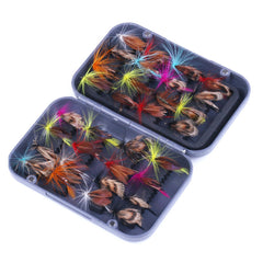 32pcs Fishing Flies Artificial Butterfly HENGJIA