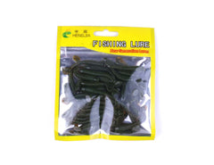 50pcs Fishing Worms Soft Bait HENGJIA
