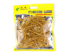 Image of 50pcs-Soft-Grubs-Bait-T-tailed-Earthworm-Maggots-Lures-HENGJIA