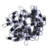 Image of 50PCS/Lot-Fishing-Connector-with-Snap-Fishhook-Lure-Tackle-HENGJIA