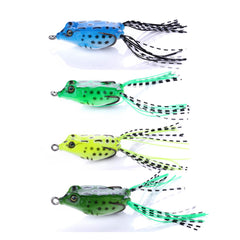 Mini Soft Rubber Frog Fishing Lure Artificial Lures HENGJIA