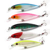 Image of Feathered-Hook-Lifelike-Minnow-Fishing-Lure-Hard-Plastic-Lure-HENGJIA