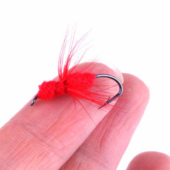 40pcs Fishing Flies Dry Fly Fishing Lures HENGJIA
