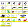Image of 110PCS-Soft-Minnow-Popper-Fishing-Lures-Lead-Head-Jig-Hooks-HENGJIA