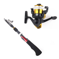 Gun Handle Spinning Fishing Rod with Reel HENGJIA